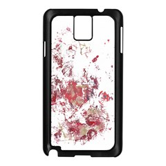 Abstract Reds Samsung Galaxy Note 3 N9005 Case (Black)