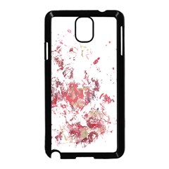 Abstract Reds Samsung Galaxy Note 3 Neo Hardshell Case (Black)