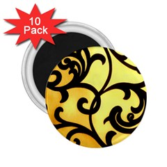 Texture Pattern Beautiful Bright 2.25  Magnets (10 pack)