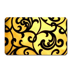 Texture Pattern Beautiful Bright Magnet (Rectangular)