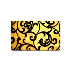 Texture Pattern Beautiful Bright Magnet (Name Card)
