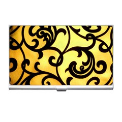 Texture Pattern Beautiful Bright Business Card Holders