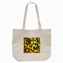 Texture Pattern Beautiful Bright Tote Bag (cream)