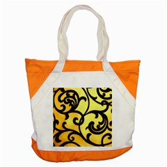Texture Pattern Beautiful Bright Accent Tote Bag