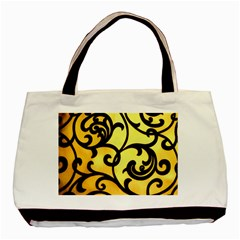 Texture Pattern Beautiful Bright Basic Tote Bag (two Sides)