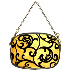 Texture Pattern Beautiful Bright Chain Purses (one Side)