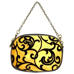 Texture Pattern Beautiful Bright Chain Purses (Two Sides)