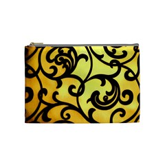 Texture Pattern Beautiful Bright Cosmetic Bag (Medium)
