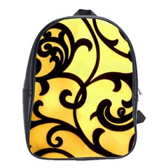 Texture Pattern Beautiful Bright School Bags(large)