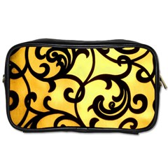 Texture Pattern Beautiful Bright Toiletries Bags 2-Side