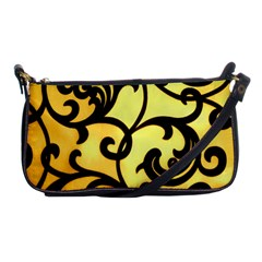 Texture Pattern Beautiful Bright Shoulder Clutch Bags