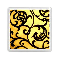 Texture Pattern Beautiful Bright Memory Card Reader (Square)
