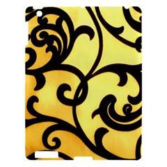 Texture Pattern Beautiful Bright Apple Ipad 3/4 Hardshell Case