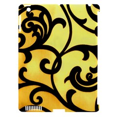 Texture Pattern Beautiful Bright Apple iPad 3/4 Hardshell Case (Compatible with Smart Cover)
