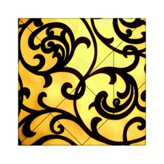 Texture Pattern Beautiful Bright Acrylic Tangram Puzzle (6  x 6 )