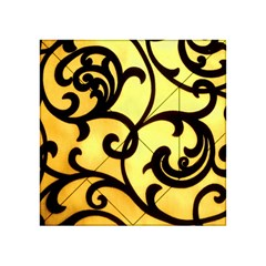 Texture Pattern Beautiful Bright Acrylic Tangram Puzzle (4  X 4 )