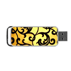 Texture Pattern Beautiful Bright Portable Usb Flash (two Sides)