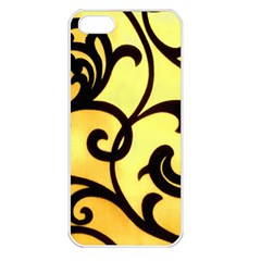 Texture Pattern Beautiful Bright Apple iPhone 5 Seamless Case (White)