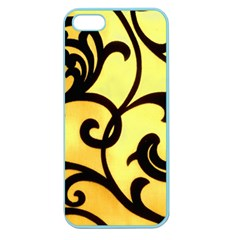 Texture Pattern Beautiful Bright Apple Seamless Iphone 5 Case (color)