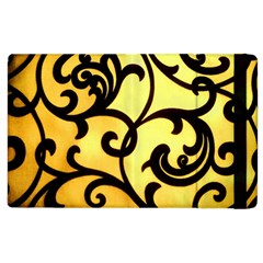 Texture Pattern Beautiful Bright Apple Ipad 2 Flip Case