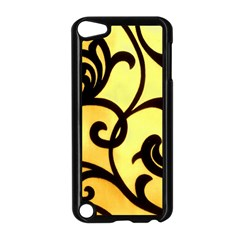 Texture Pattern Beautiful Bright Apple Ipod Touch 5 Case (black)