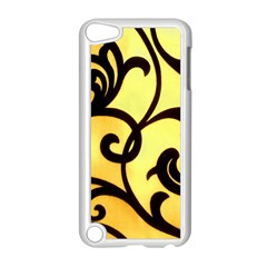 Texture Pattern Beautiful Bright Apple Ipod Touch 5 Case (white)