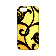 Texture Pattern Beautiful Bright Apple Iphone 5 Classic Hardshell Case (pc+silicone)
