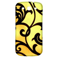 Texture Pattern Beautiful Bright Samsung Galaxy S3 S III Classic Hardshell Back Case