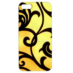 Texture Pattern Beautiful Bright Apple iPhone 5 Hardshell Case with Stand