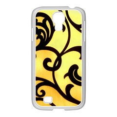 Texture Pattern Beautiful Bright Samsung GALAXY S4 I9500/ I9505 Case (White)