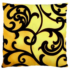 Texture Pattern Beautiful Bright Large Flano Cushion Case (one Side)