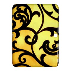 Texture Pattern Beautiful Bright Samsung Galaxy Tab 4 (10 1 ) Hardshell Case
