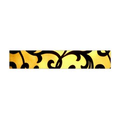 Texture Pattern Beautiful Bright Flano Scarf (Mini)