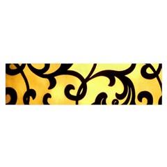 Texture Pattern Beautiful Bright Satin Scarf (Oblong)
