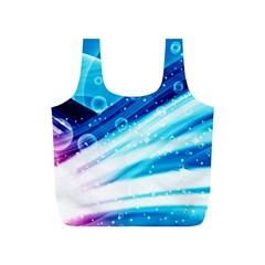 Bi Pride Full Print Recycle Bags (S)