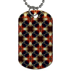 Kaleidoscope Image Background Dog Tag (two Sides)