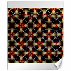 Kaleidoscope Image Background Canvas 16  x 20