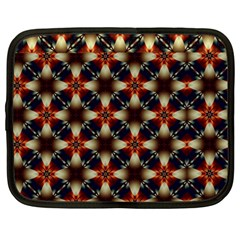 Kaleidoscope Image Background Netbook Case (Large)