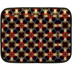 Kaleidoscope Image Background Fleece Blanket (mini)
