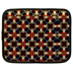 Kaleidoscope Image Background Netbook Case (xxl)