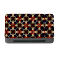 Kaleidoscope Image Background Memory Card Reader With Cf