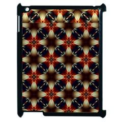 Kaleidoscope Image Background Apple Ipad 2 Case (black)