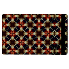 Kaleidoscope Image Background Apple Ipad 2 Flip Case