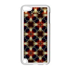 Kaleidoscope Image Background Apple iPod Touch 5 Case (White)