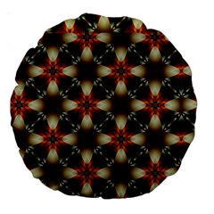 Kaleidoscope Image Background Large 18  Premium Round Cushions