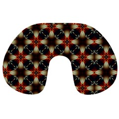 Kaleidoscope Image Background Travel Neck Pillows