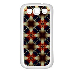 Kaleidoscope Image Background Samsung Galaxy S3 Back Case (white)