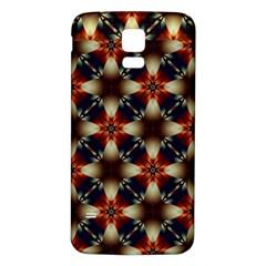 Kaleidoscope Image Background Samsung Galaxy S5 Back Case (white)
