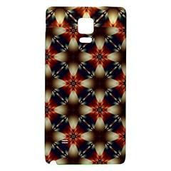 Kaleidoscope Image Background Galaxy Note 4 Back Case