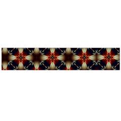Kaleidoscope Image Background Flano Scarf (Large)